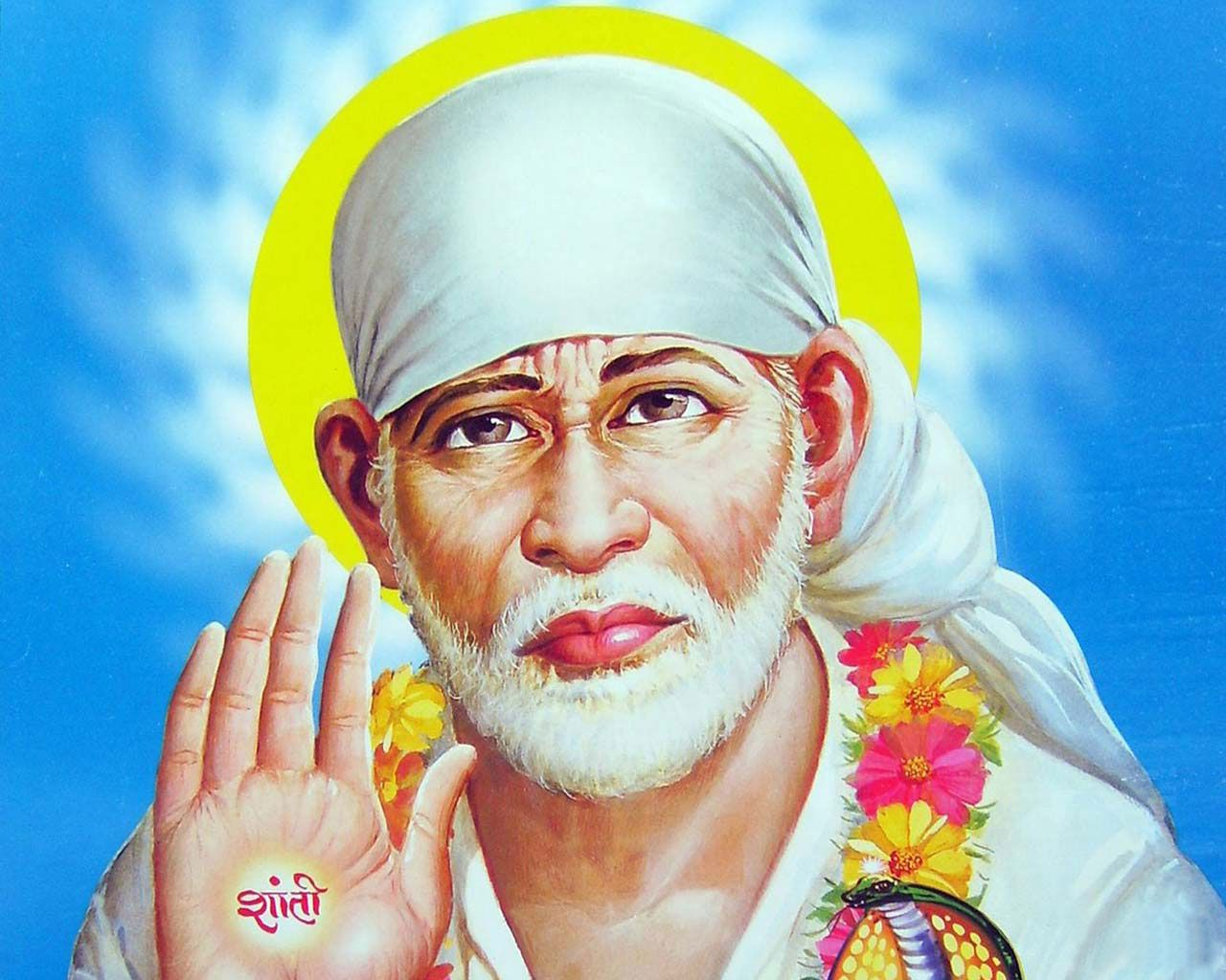 Shirdi Sai Baba Full Screen Hd Wallpapers Download Sai Baba