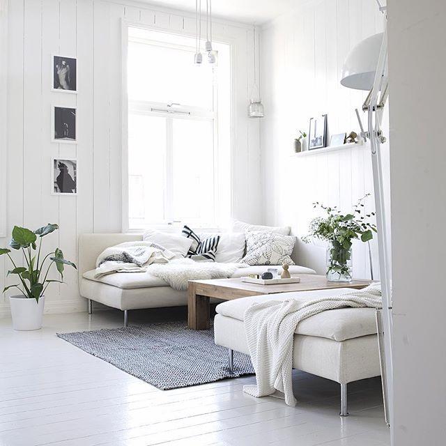 deux canap face face avec grande table basse et tapis appart s jour pinterest sal n. Black Bedroom Furniture Sets. Home Design Ideas