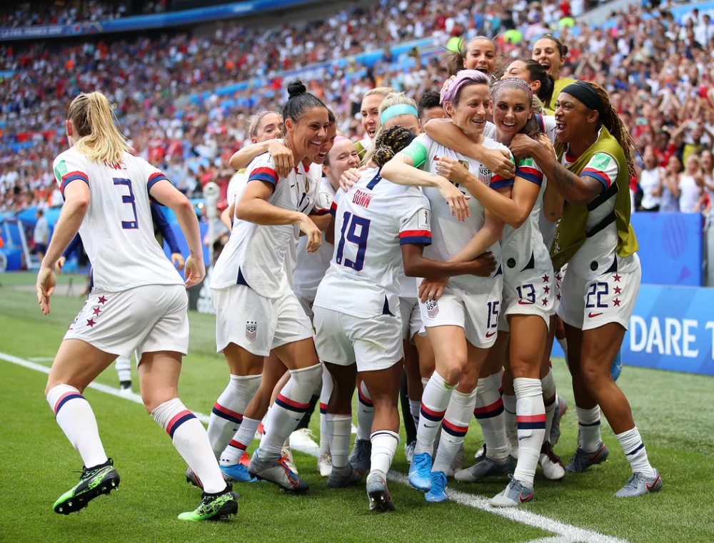 The Americans Win The 2019 Women S World Cup In 2020 Women S World Cup Girls Soccer Team World Cup Champions