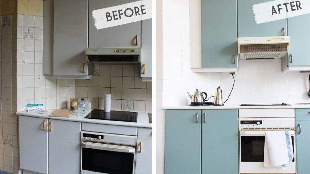 Relooker ses meubles de cuisine avec un petit budget - Relooker ses meubles de cuisine ...
