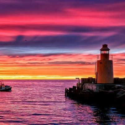 A lighthouse was first lit there in 1839. Description from pinterest.com. I searched for this on bing.com/images