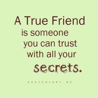 quotes on true friendship and trust