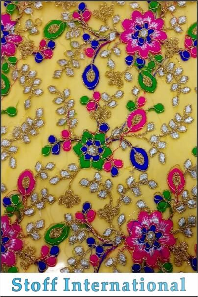 Coding Embroidery Fabrics 498 Design Code Mv 498 Product Name