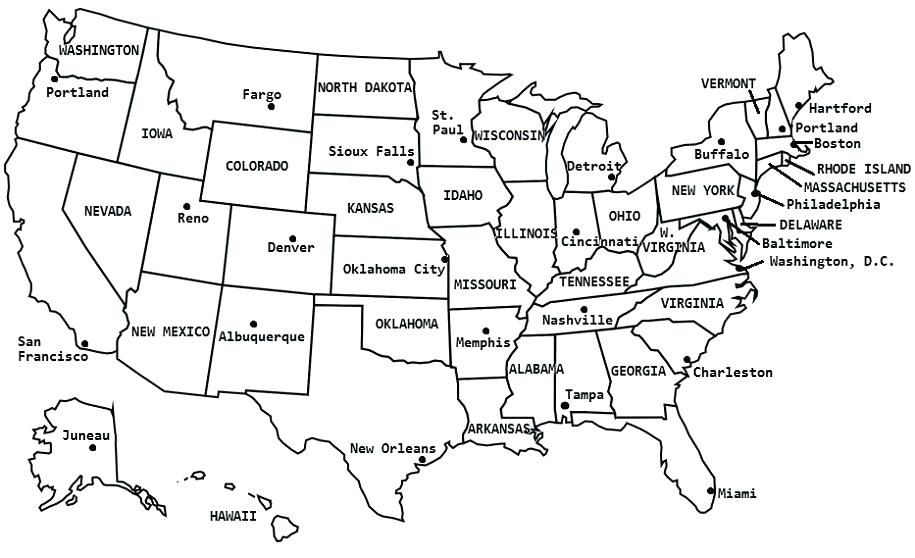 Map Of North America Quiz.Blank Us Map Quiz Printable Africa Map Games Usa Maps Blank North
