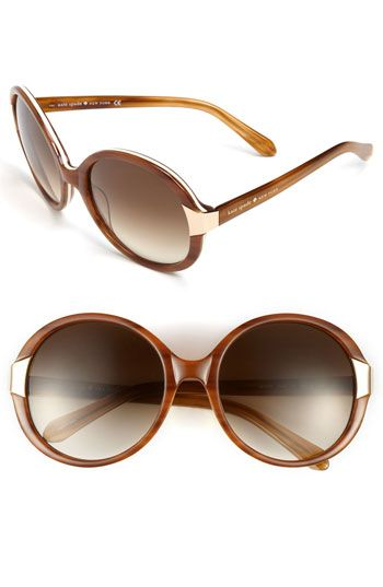 87bf25bddd kate spade new york oversized sunglasses available at  Nordstrom ...