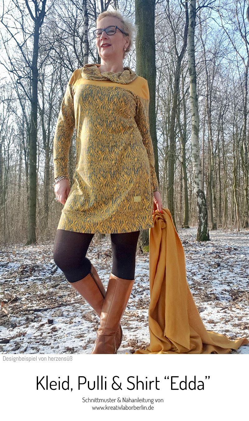 Kleid Pullover Shirt Edda Kreativlabor Berlin Pullover Shirt Pullover Nahen Damen Kleider Fur Frauen Nahen