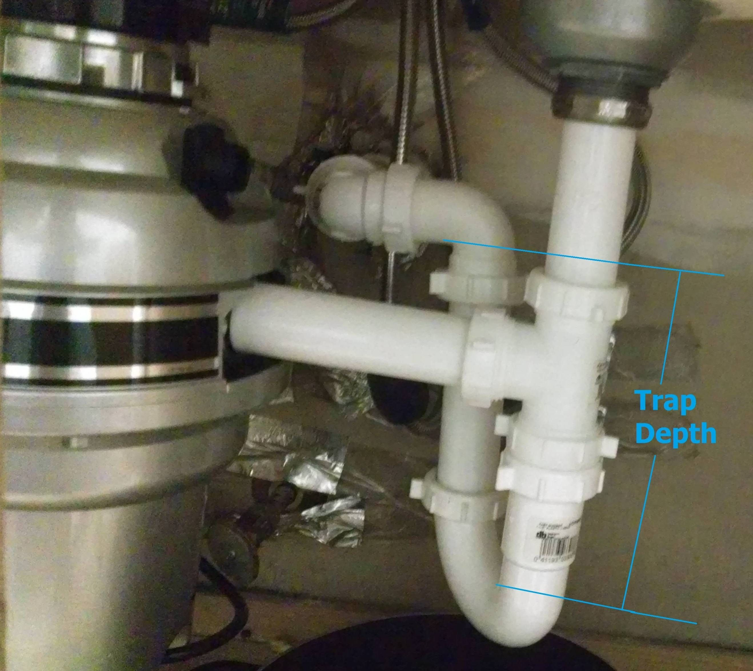 Kitchen Sink Drain Pipe Too High Kitchen