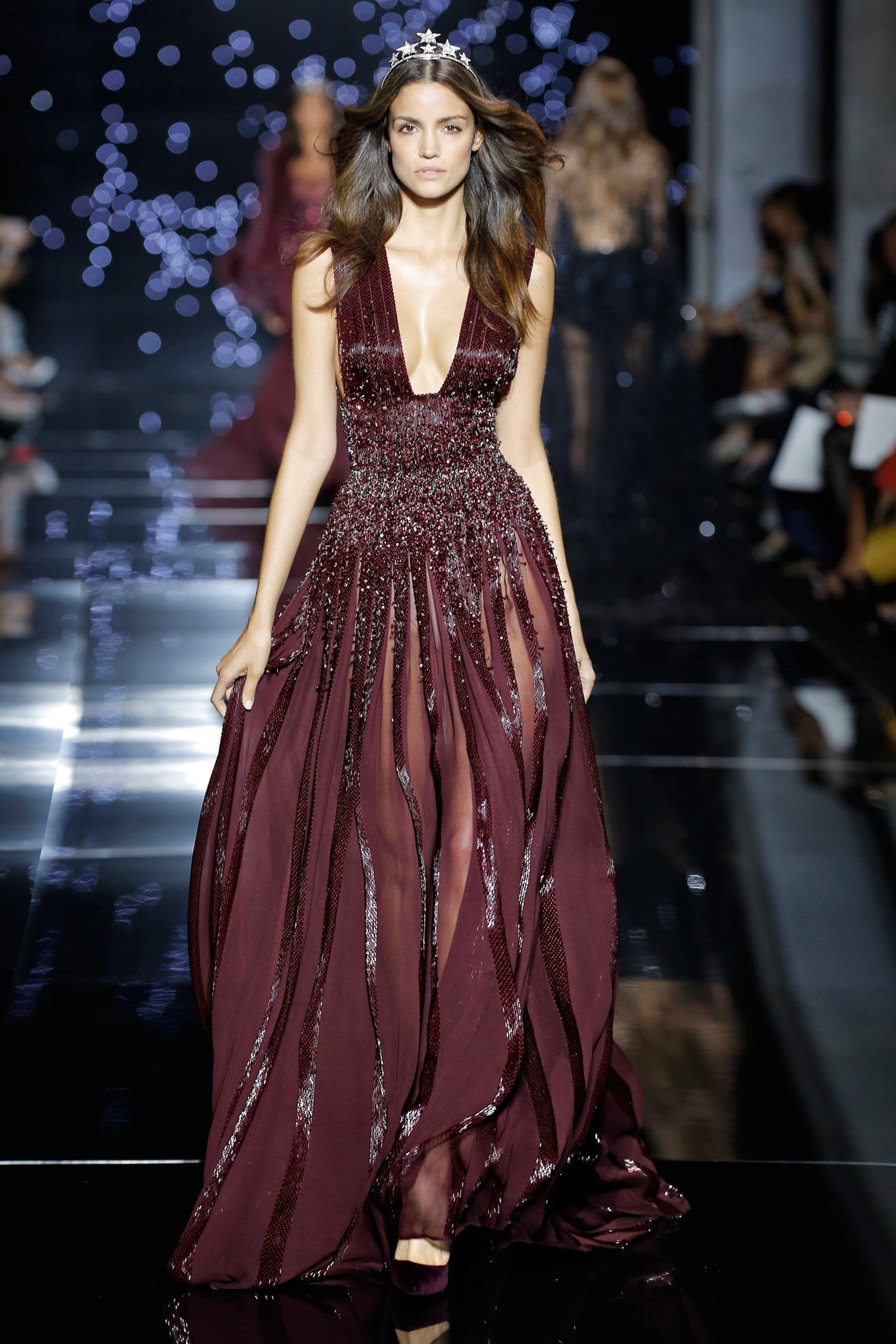 Zuhair muradcouture fall winter 2015 16 long fluid dress for High fashion couture dresses