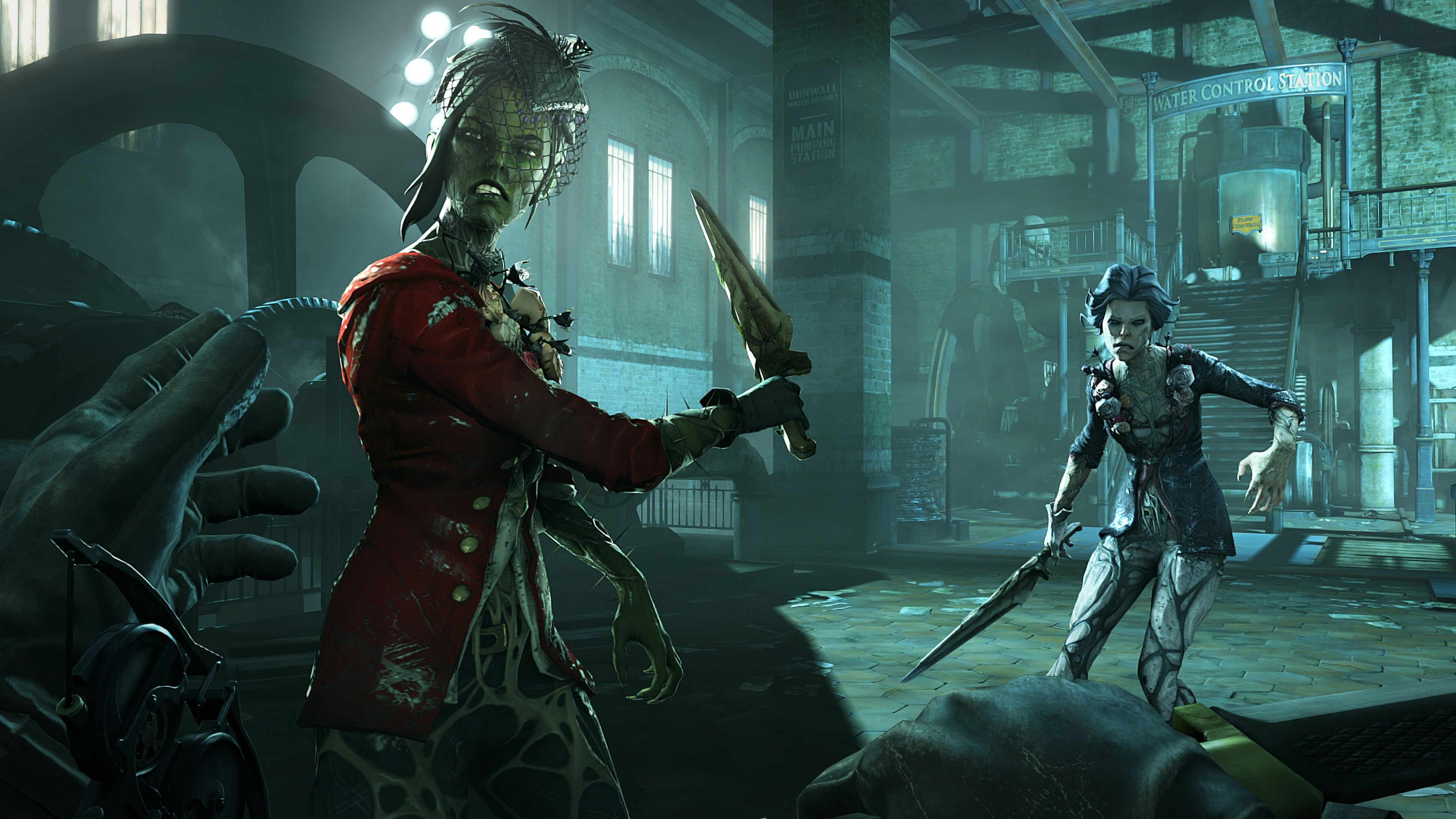 Dishonored 2 4k Hd Wallpapers Dishonored Dishonored 2 Witch Wallpaper