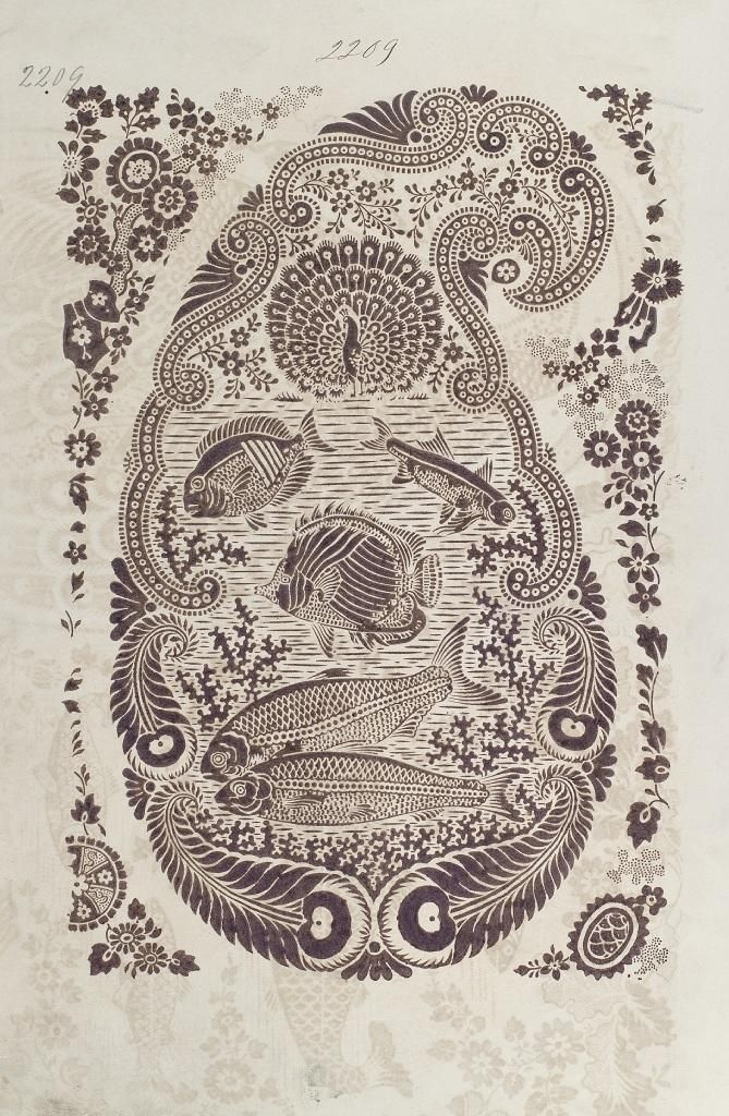 Turkey Red - Collections Search, Paisley