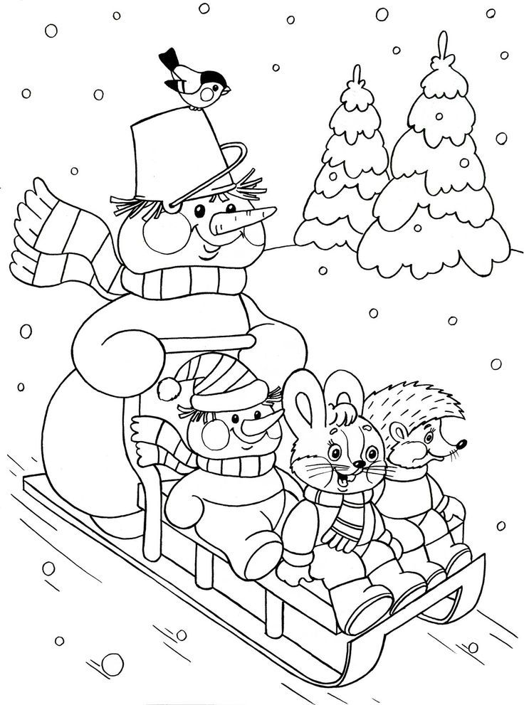Winter Season Coloring Pages For Kids Crafts And Worksheets For Preschool Toddler An Coloring Pages Winter Christmas Coloring Pages Christmas Coloring Sheets