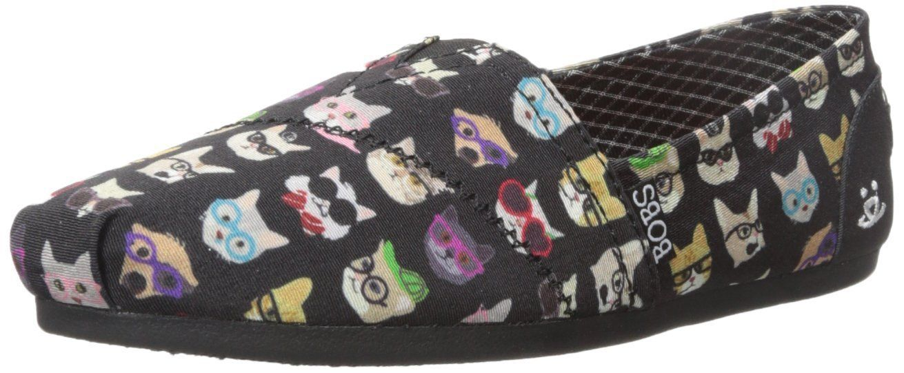 9a899ba95a23a BOBS from Skechers Women's BOBS for Dogs Plush Slip-On Flat: Amazon ...