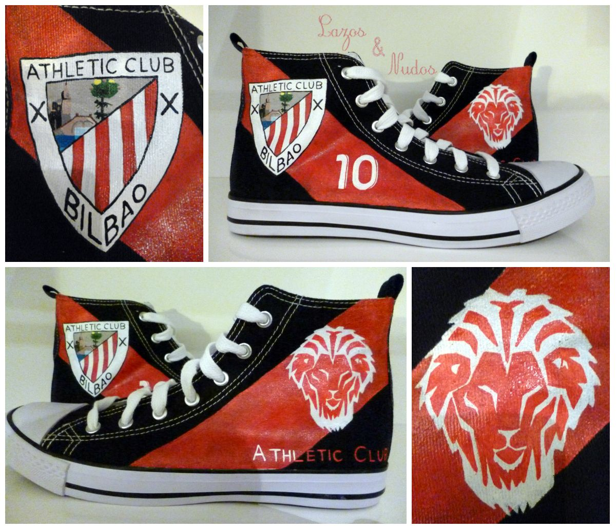 Zapatillas Athletic Bilbao negras #10