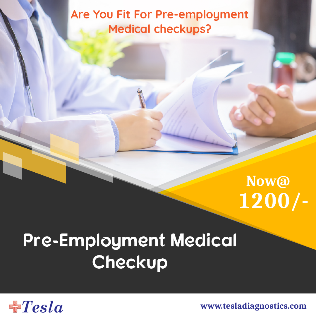 Do You Remain Fit For Pre-employment Medical checkups?  Be aware of pre-existing conditions and risk...