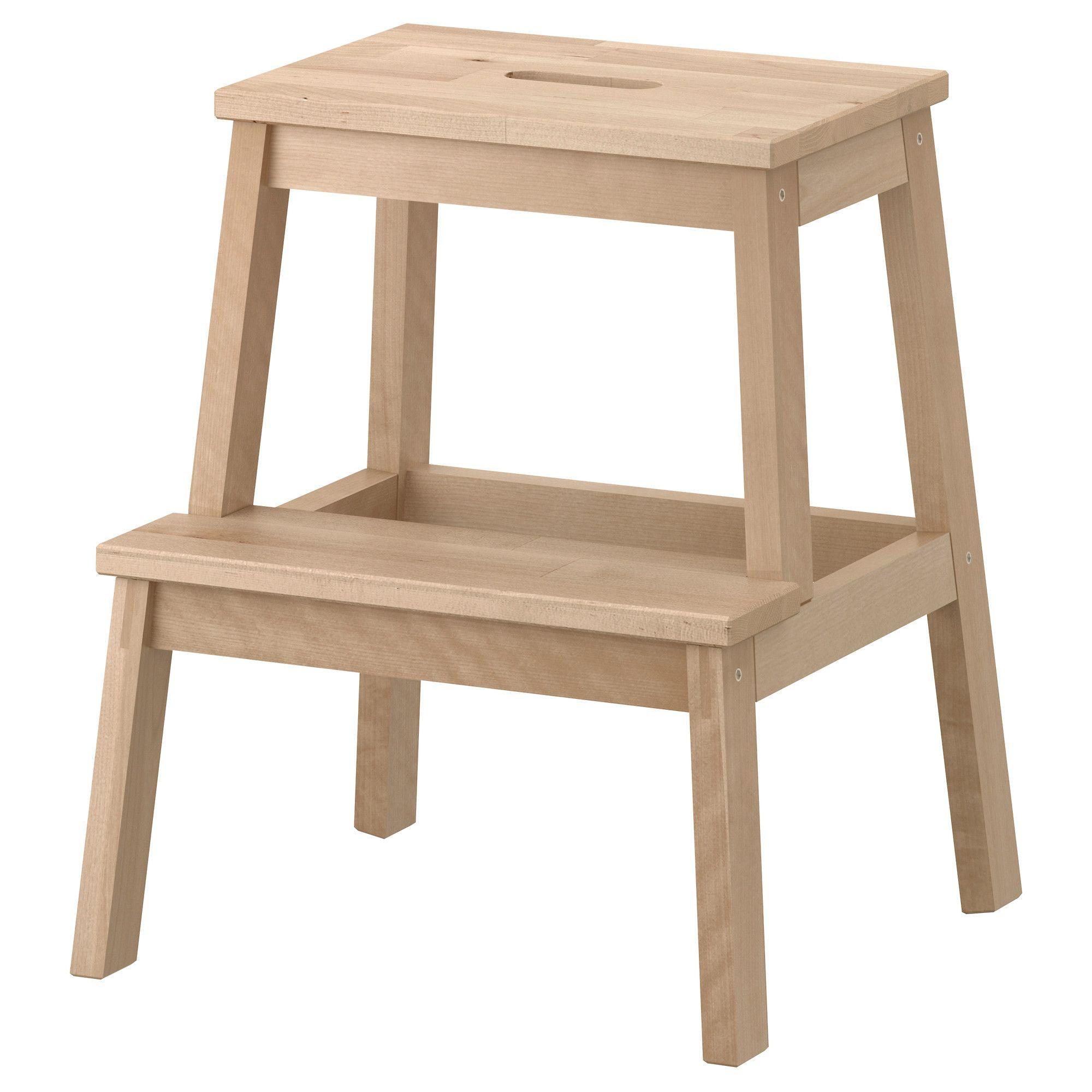"BEKVÄM Step stool birch 19 5/8 "" (With images) Ikea"