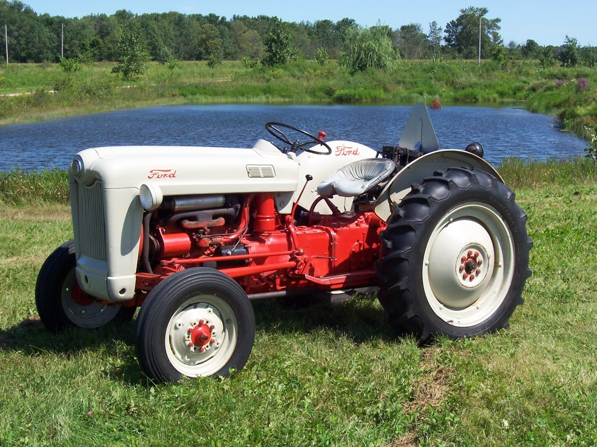 medium resolution of 54 ford naa jubilee vintage tractors antique tractors vintage farm 8n ford tractor