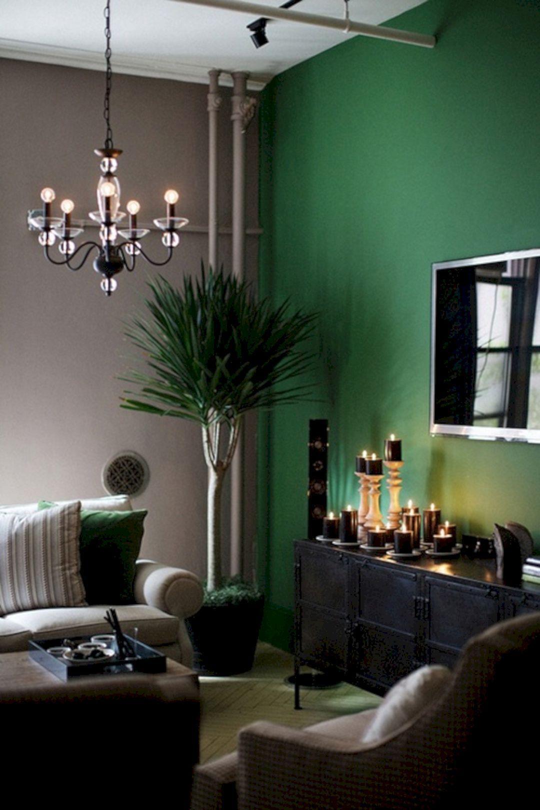 Wohnzimmer Farben Dunkelgrun Farbgestaltung Wohnzimmer Grune