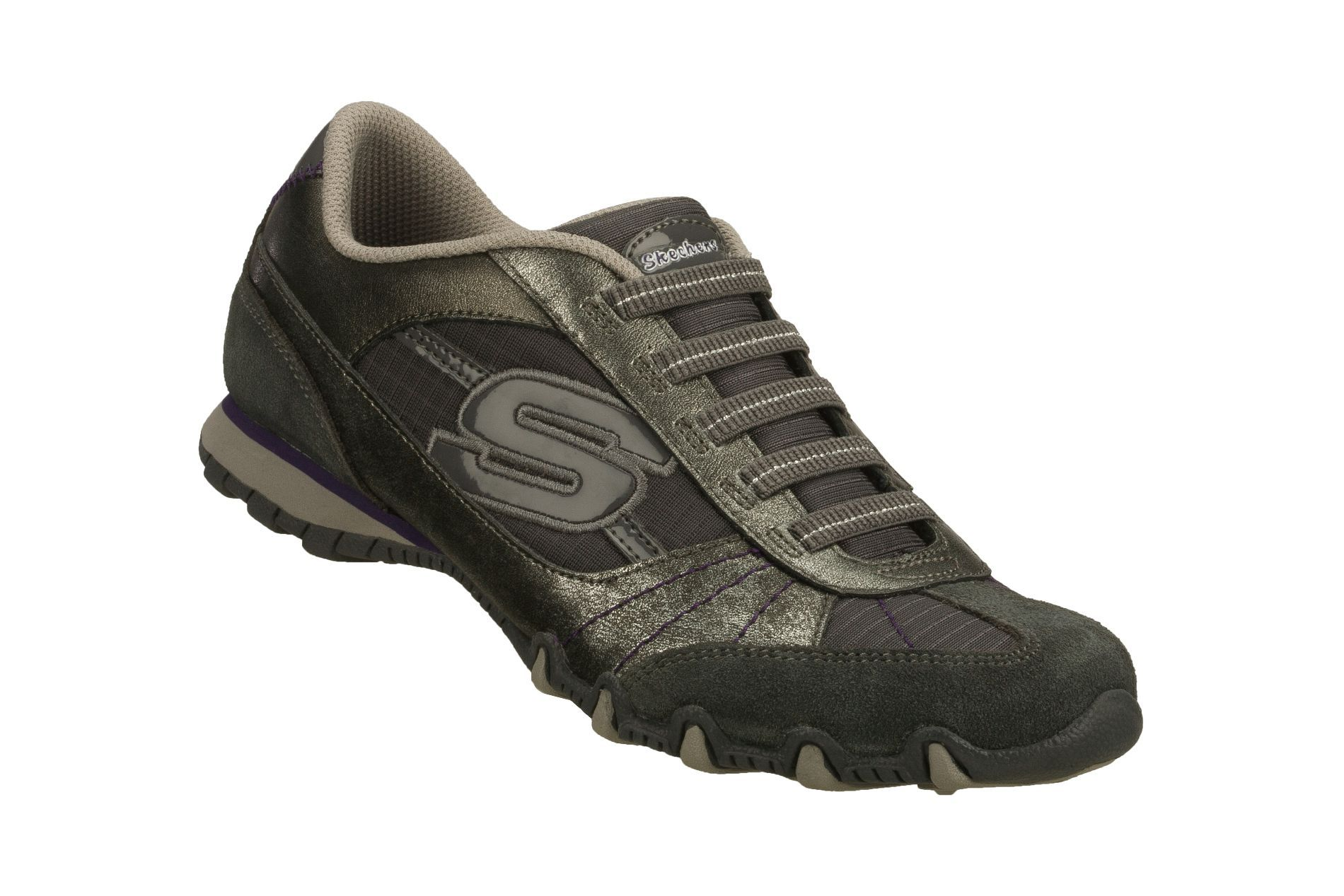 Women's Athletic Shoes | skechers women s athletic shoe vexed charcoal this  leather suede and .