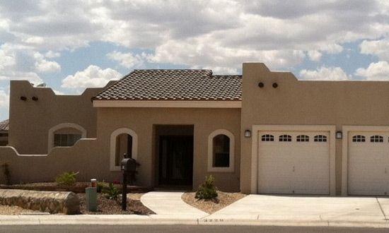 Santa Fe Style Desert Home By E H Baeza Inc Real Estate Rentals Desert Homes Southwest Landscaping