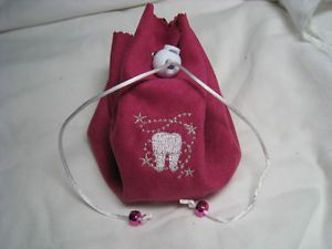 More eBay ideas - Tooth Fairy Pillow - No Sew - Tied Fleece - With Tooth Pocket - Boy or Girl