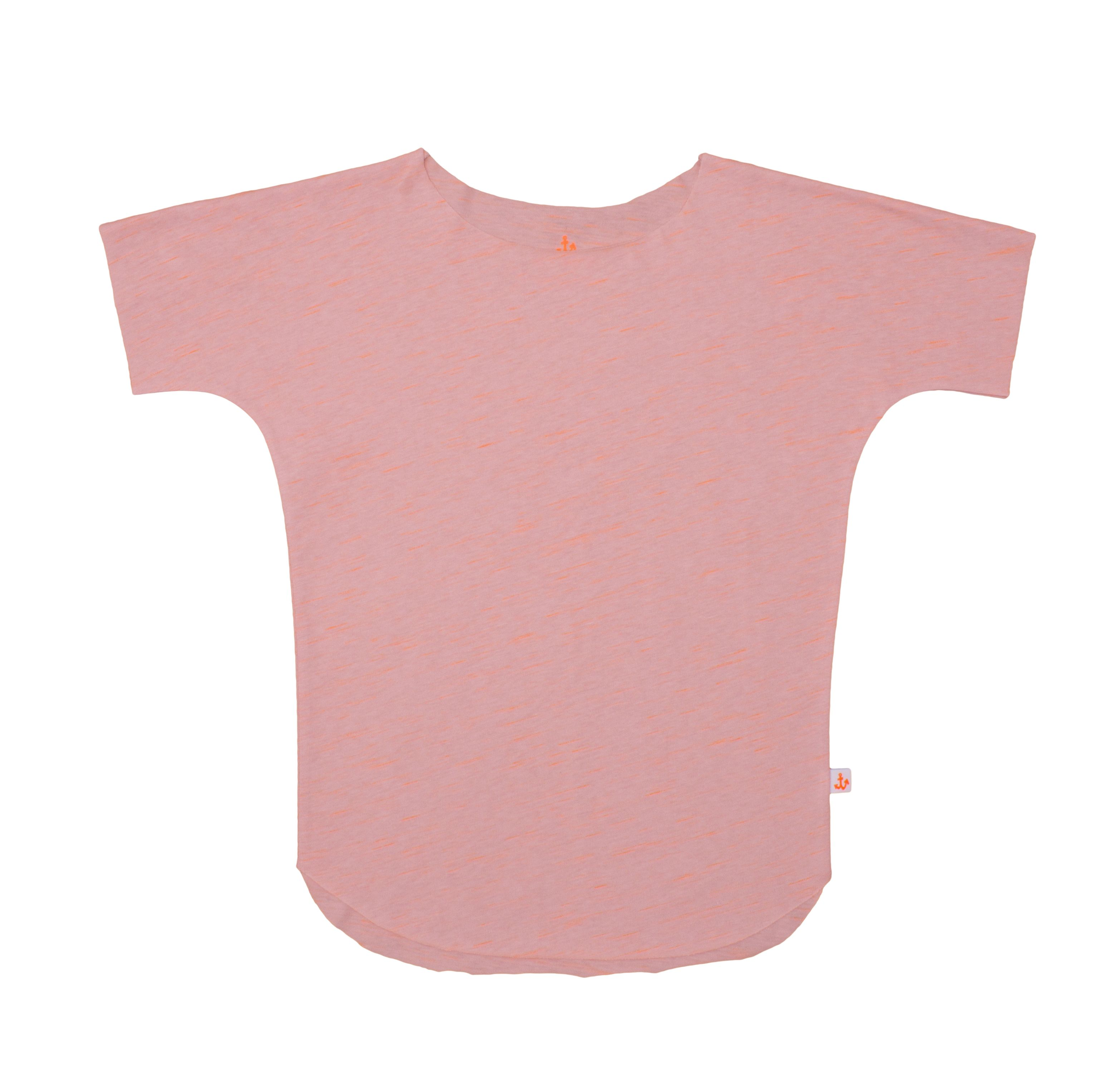 Noé & Zoë SS 16 - Girls tee in peach http://www.noe-zoe.com/Collections/SS-16/