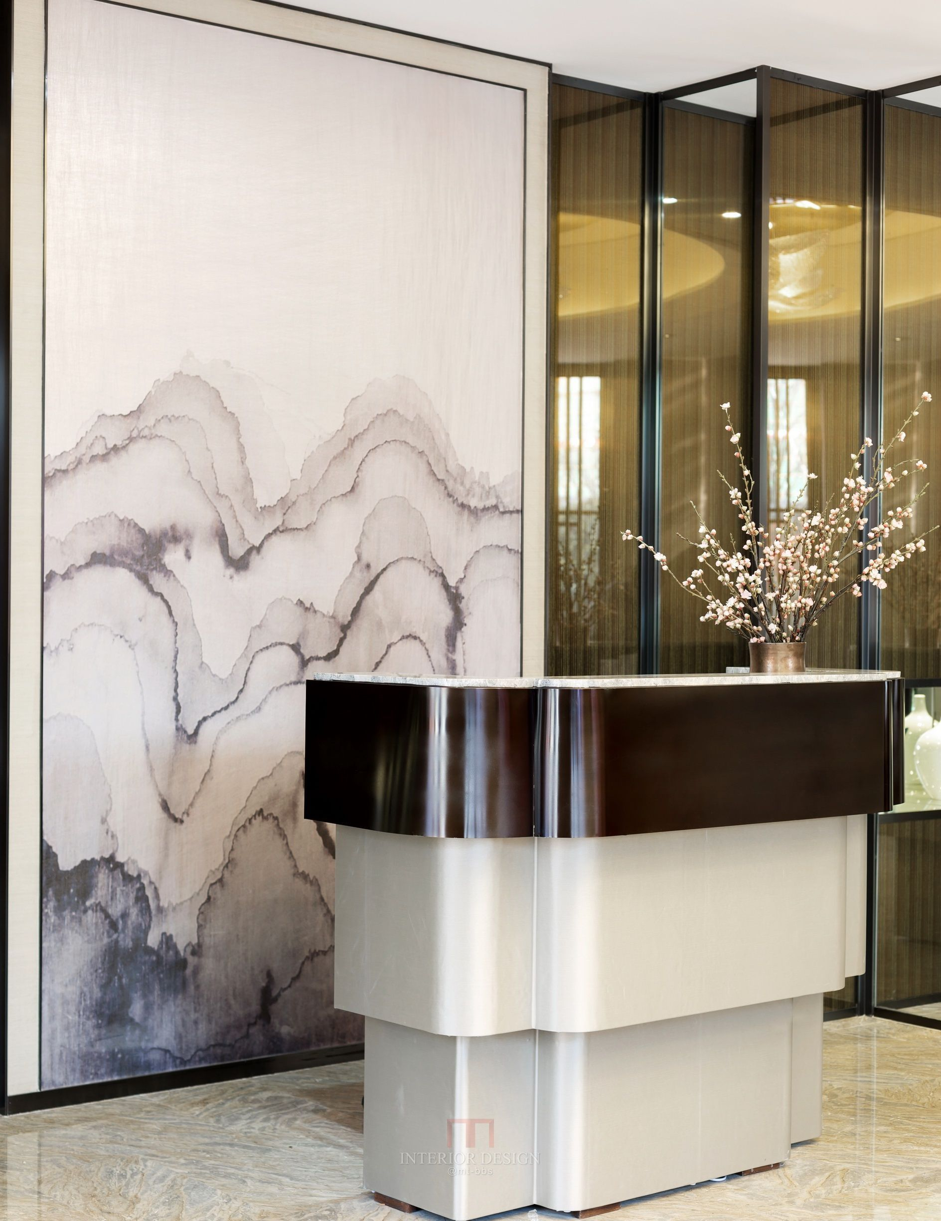 Interior Design Inspirations For Your Luxury Hotel S Reception Check More At Luxxu Net Reception Desk Design Reception Desk Counter Design