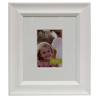 8 X 10 White Museum Style Photo Frame With Mat Shop Hobby Lobby