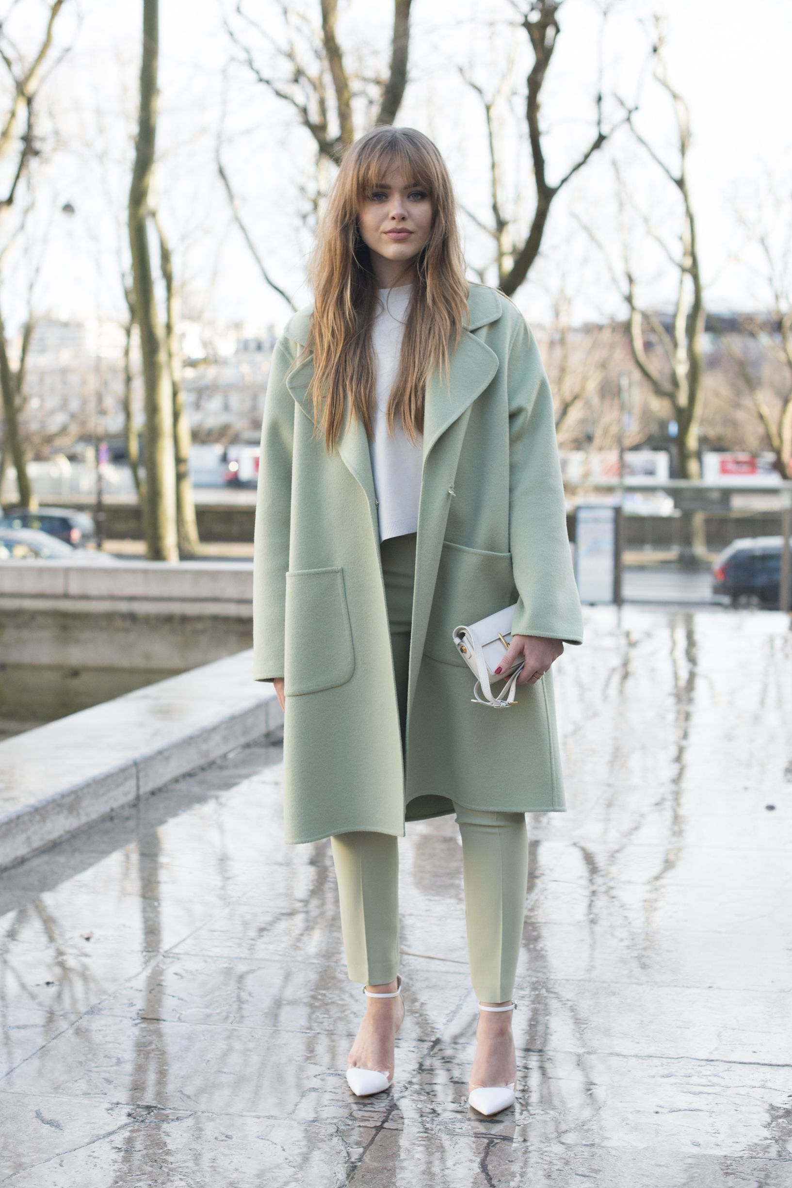 Street Style Paris Fashion Week Day Two Womenswear Fall Winter 2016 2017 Street Style