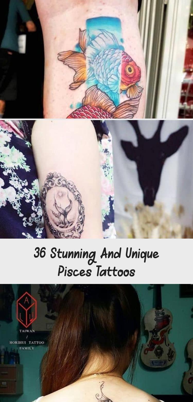 36 Stunning and Unique Fish Tattoos - Tattoo - 36 Stunning ... -  36 Breathtaking and Unique Fish Tattoos – Tattoo – 36 Breathtaking Fish Tattoos that capture th - #dragontattoo #Fish #foottattoos #piscestattoo #stunning #tattoo #tattoos #unique