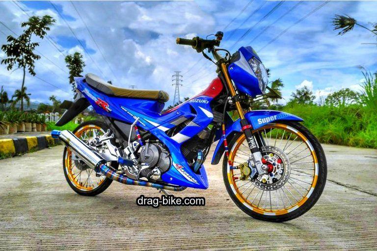 Motor Satria Fu Full Modif Simple Keren Gambar, Sepeda