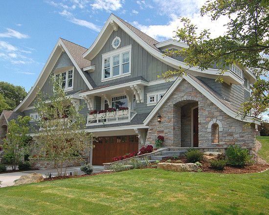 Wonderful Home Design With Traditional Touch : Stunning Landscape Edina Double Extrior Green Lawn Small Garden