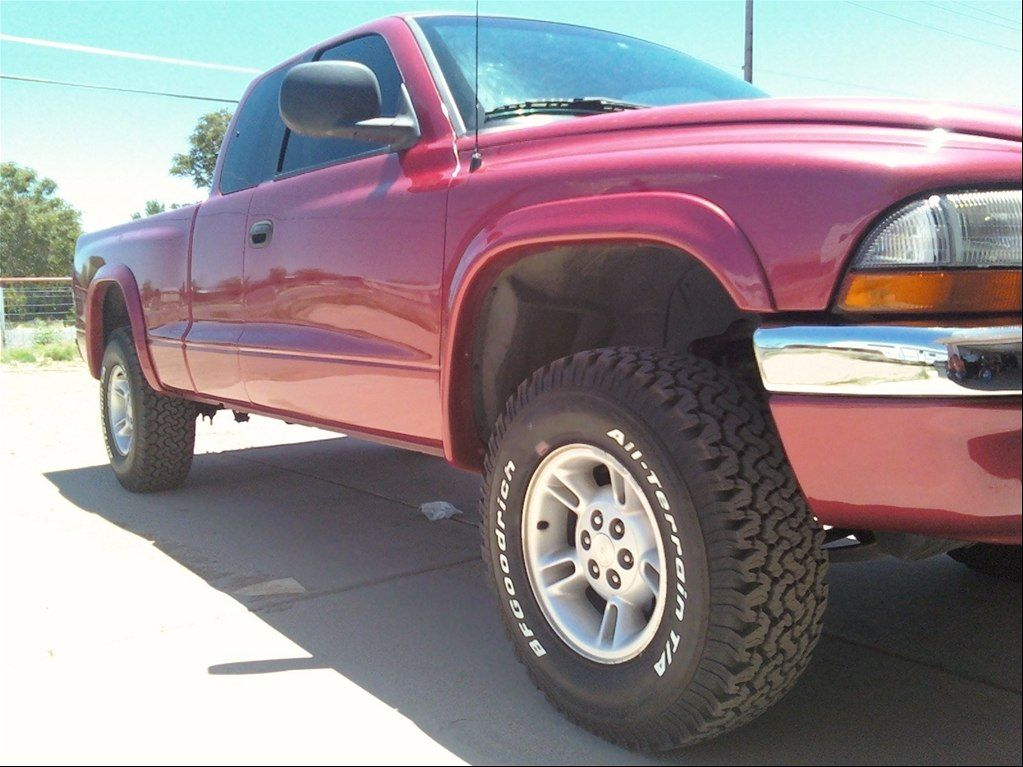Dodge Dakota Tire Size