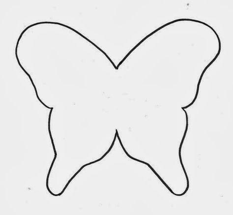 Schmetterling ~ Mobile (Schablone) | Basteln für Kinder | Pinterest