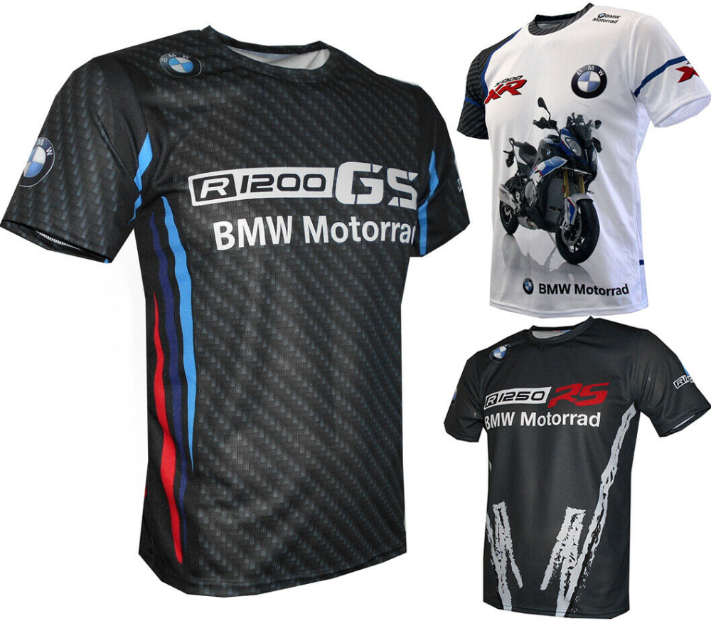 BMW R1200GS S1000XR R1250RS T shirt Biker Motorrad Travel