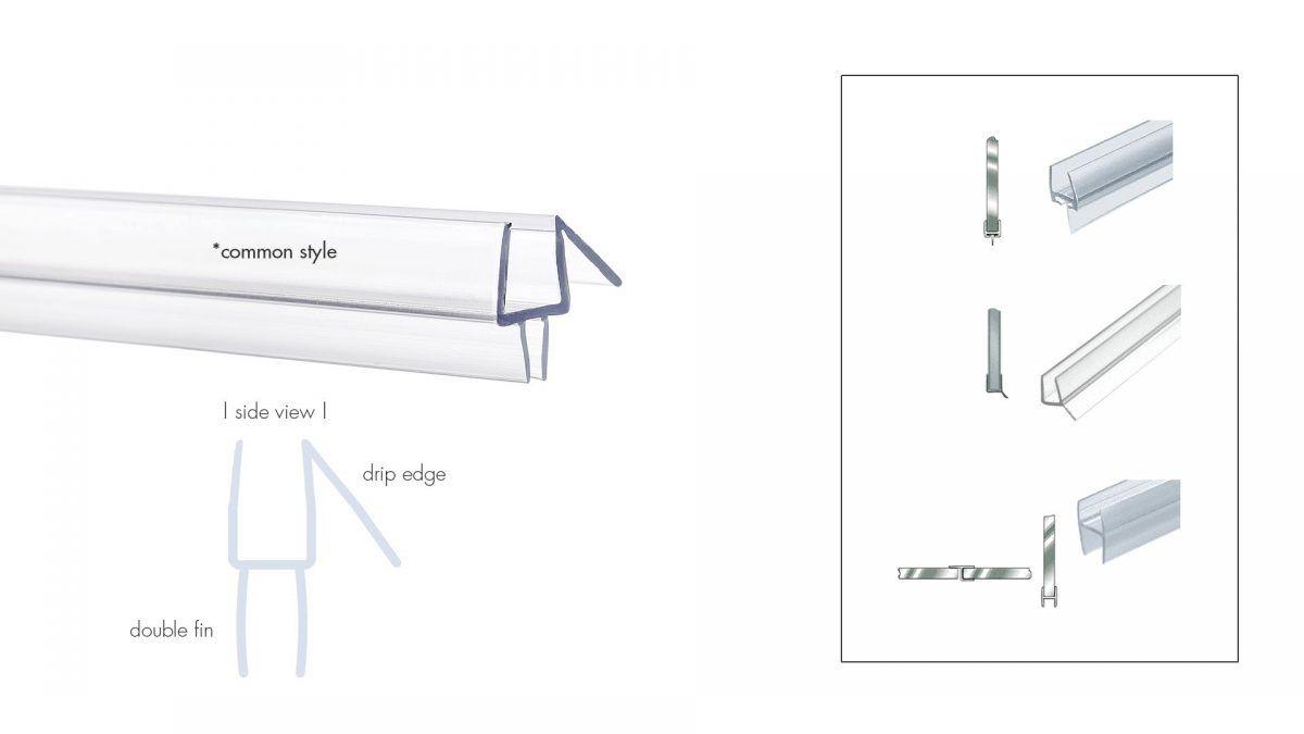 Shower Door Water Seal Strip Lining Httpsourceabl