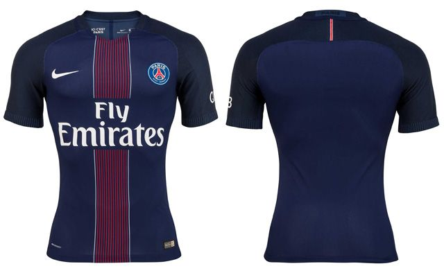 Camisas do PSG 2016-2017 Nike Kit 535a9f53d37e3