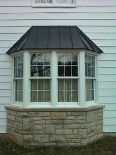 Steel Roof Panel For Bay Windows Google Search Bay Window Exterior House Exterior Bay Window