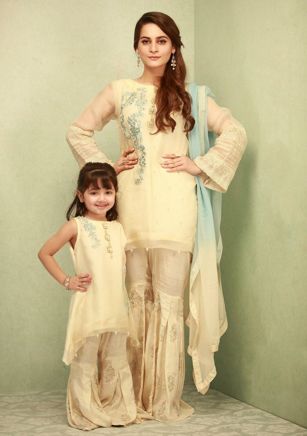 Phatyma Khan Pakistani Fashion Designer Luxury Pret Dresses Prices Mom Daughter Outfits Pakistani Dress Design Latest Pakistani Dresses