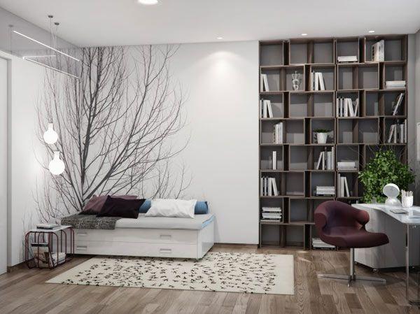 Spacious And Carefully Compartmentalized Ukrainian Apartment Freshome Com Bedroom Design Interior Design Bedroom Nature Inspired Bedroom