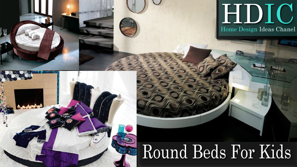 Superb Round Beds For Kids We Are Often Too Concerned About The Set Design  Principles And Form Factor. Innovation Is Not Just About Taking The Current  Design ...