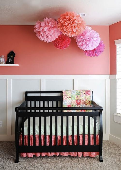 Diy Use Poms To Pretty Up Your Party Or Nursery Girl