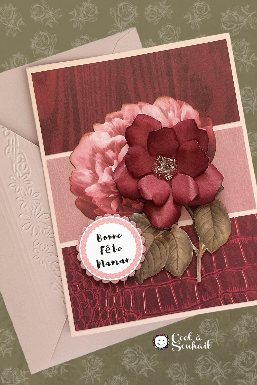 Carte De Voeux 3D A Fabriquer carte 3d pour la fête des mères   carte fête des mères