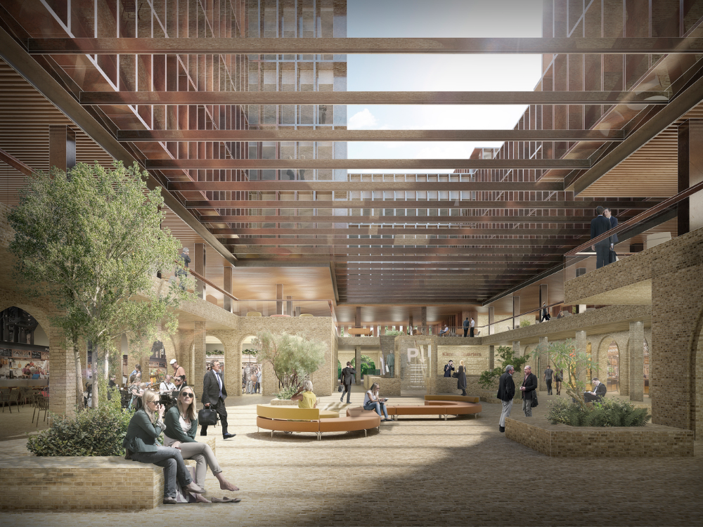 Gallery Of Schmidt Hammer Lassen Selected In Competition For Redevelopment Of Riga Historic Quarter 5 Facade Architecture Design Industrial Architecture Architecture