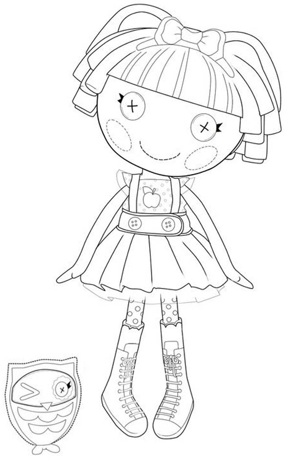 Bea Spells A Lot From Lalaloopsy Coloring Page Color Luna In 2020 Fairy Coloring Pages Coloring Pages Fairy Coloring