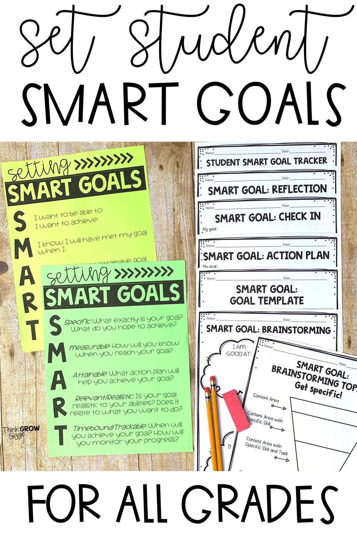 Setting Smart Goals For The New Year In 2021 Smart Goal Setting Smart Goals Student Goals [ 1800 x 1200 Pixel ]