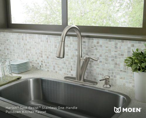 Moen Benton Pulldown Kitchen Faucet Home Design Ideas Style