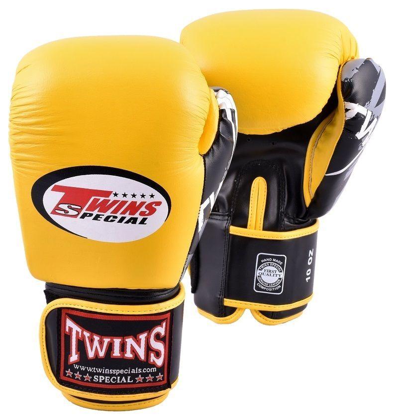 New Twins Special Muay Thai Boxing Gloves 8 10 12 14 16 oz BGVL-3 FBGV Signature