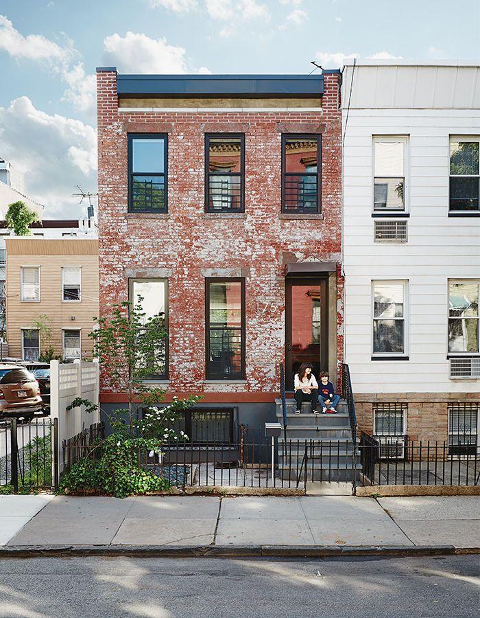 Modern brooklyn renovation renovations pinterest for Modern home facades