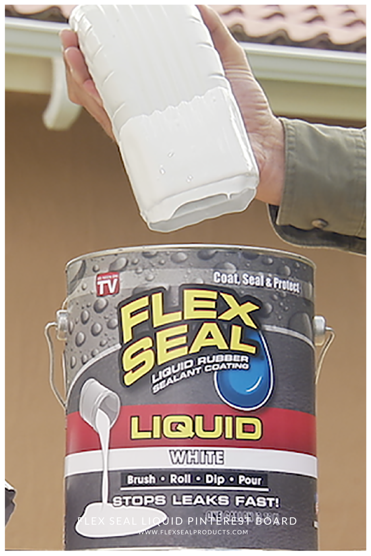 Flex Seal 174 Liquid Is Liquid Rubber In A Can Now You Can