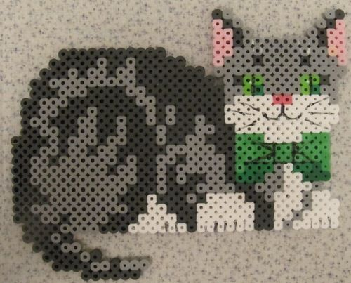 Perler Beads Cat